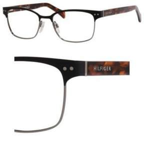 Tommy Hilfiger Eyeglasses T_hilfiger 1306 0VJC BLKRUTHHAVABRWN