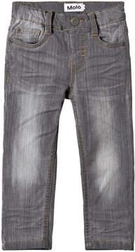 Molo Grey washed denim Augustin Jeans