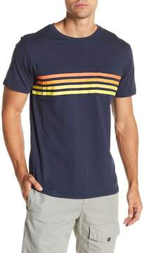 Billabong Short Sleeve Front Stripe Tailored Fit Tee