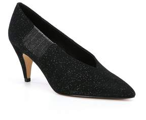 Free People Florence Suede Sparkle Pumps