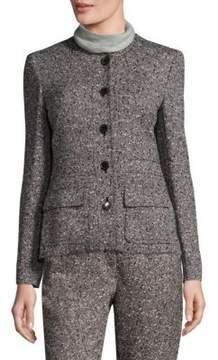 Escada Basco Speckled Wool Jacket