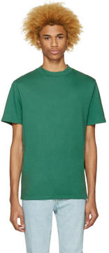Alexander Wang Green High Neck T-Shirt