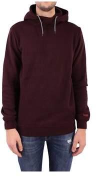 Scotch & Soda Men's Burgundy Cotton Sweatshirt.