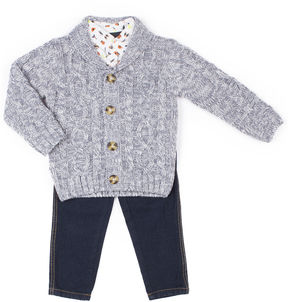 Little Lass 3-pc. Pant Set Baby Boys