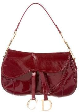 Christian Dior Diorissimo Saddle Bag