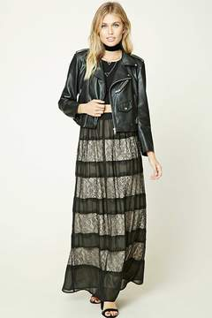 Forever 21 Contemporary Lace Maxi Skirt