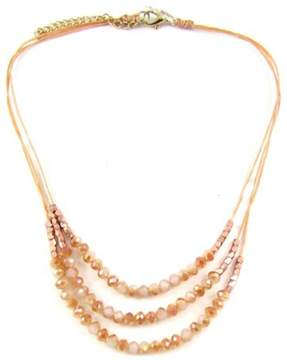 Ananda Orange Crystal Necklace