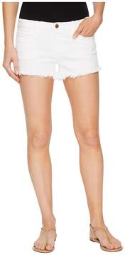 Blank NYC Cut Off Shorts in Great White Women's Shorts