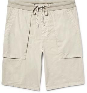 James Perse Slim-Fit Cotton-Poplin Cargo Shorts
