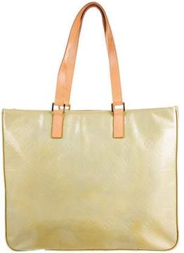 Louis Vuitton Vernis Columbus Tote - YELLOW - STYLE