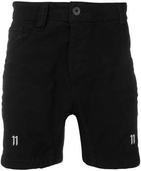 11 By Boris Bidjan Saberi elasticated design shorts