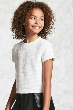 Forever 21 Girls Sequin Top (Kids)