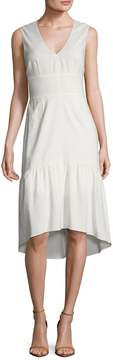 Ava & Aiden Women's Deep V Flounce High Low Dress