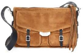 Rag & Bone Suede Feild Messenger Bag