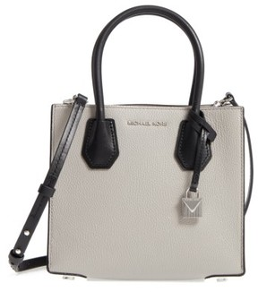 MICHAEL Michael Kors Medium Mercer Leather Tote - Grey - GREY - STYLE