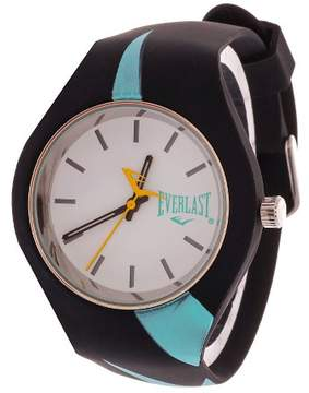 Everlast Soft Touch Rubber Strap and Case Watch - Turquoise