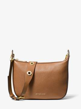MICHAEL Michael Kors Barlow Medium Pebbled Leather Messenger