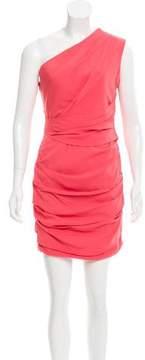 Matthew Williamson One-Shoulder Gathered Dress