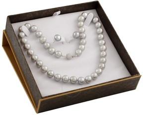 Bella Pearl Grey Freshwater Pearl Boxed Jewelry Set SET-I