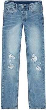 Ksubi Slim Cut Ripped Knee Jeans