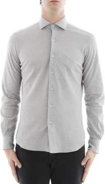Orian Grey Cotton Shirt