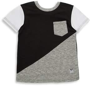 Joe's Jeans Little Boy's Colorblock Pocket T-Shirt - Size l (14-16)