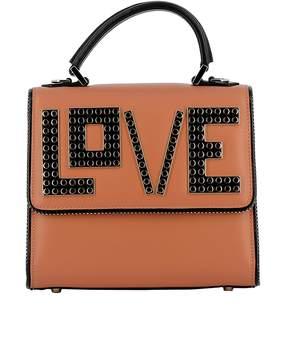 Les Petits Joueurs Brown Leather Handbag