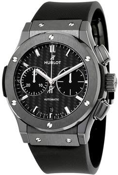 Hublot Classic Fusion Chronograph Black Magic Mat Carbon Fiber Dial Automatic Men's Watch
