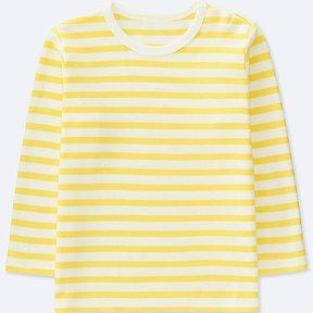 Uniqlo Toddler Crewneck Long-sleeve T-Shirt