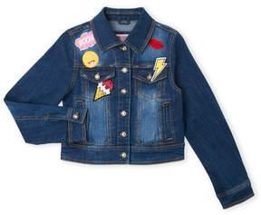 Urban Republic Girls 7-16) Patchwork Denim Jacket
