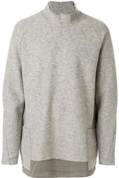 The Viridi-anne layered turtleneck sweater