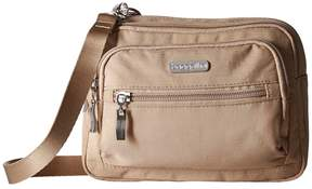 Baggallini Triple Zip Bagg Cross Body Handbags