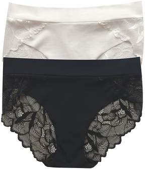 Commando Women's Two-Pack Lace-Trimmed Panties