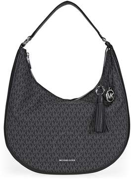 Michael Kors Lydia Large Hobo Bag- Black - ONE COLOR - STYLE