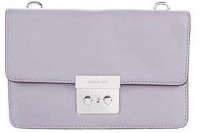 Michael Kors Small Sloan Gusset Crossbody Bag - PURPLE - STYLE
