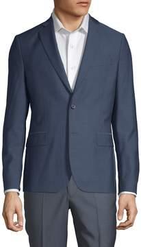 J. Lindeberg Men's Wool-Blend Sports Jacket