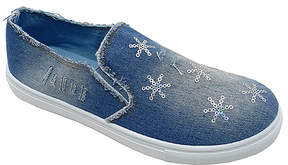 Wild Diva Blue Floral Carrie Sneaker