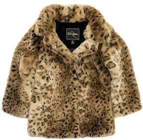 Rock Your Baby Leopard Fur Jacket