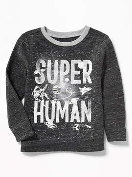 Old Navy Super Human Foil Tee for Toddler Boys