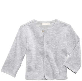 First Impressions Marled Snap-Front Cardigan, Baby Boys, Created for Macy's