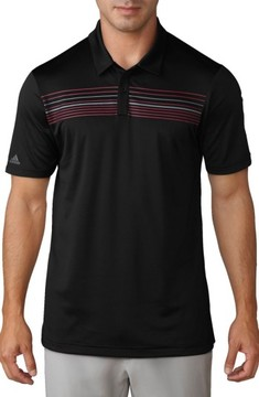 adidas Men's Climacool Striped Polo