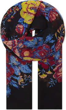 Diane von Furstenberg Bournier silk chiffon scarf