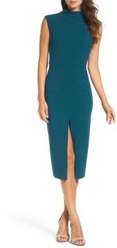 Betsey Johnson Women's Crepe Midi Dress