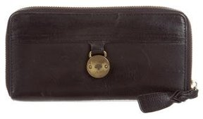 Mulberry Leather Zip Wallet