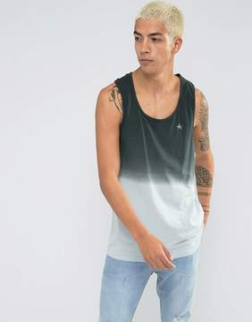 Antioch Relaxed Fit Racer Back Dip Dye Tank