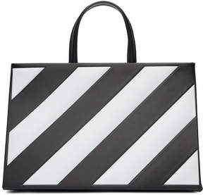 Off-White Black Medium Diagonal Box Bag