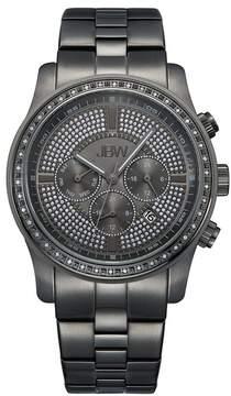 JBW Men's Vanquish Diamond Stainless Steel Bracelet Watch - 2.50 ctw