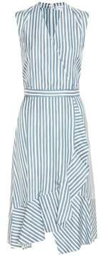 Carven Striped silk dress