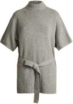 Joseph Tie-waist cashmere sweater