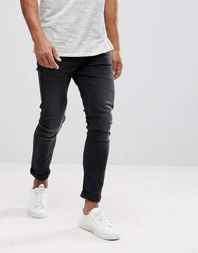 ONLY & SONS Skinny Washed Black Jean